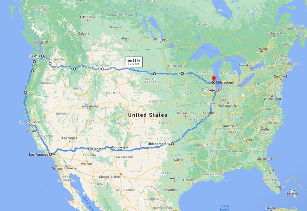 Fatman 2023 prell route